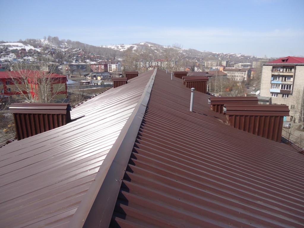 Ремонт крыши по адресу пр. Коммунистический, дом 69