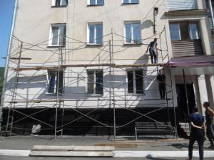 ООО Группа компаний НСК с 17.07.20 по 30 09.20 ремонт фасада